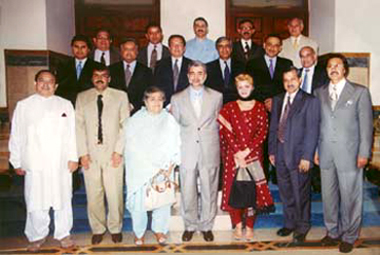 The Group Picture of Pakistan Human Development Fund Founding Directors and Trustees